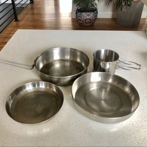 3-Piece Camping Compact Cooking Set